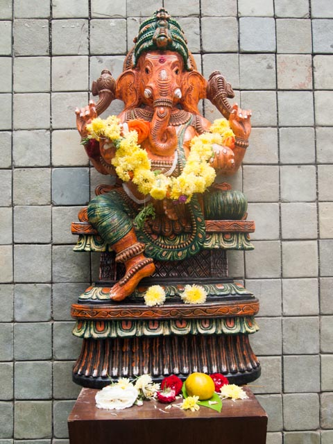 Ganesh all decked out